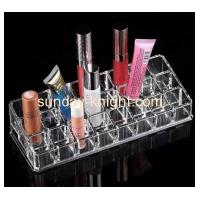 China Custom fashion design acrylic make up lipstick organizer MDK-048 wholesale