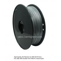 China HIPS filament Silver color 1.75/3.0mm wholesale