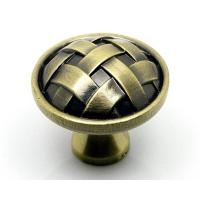 Buy cheap wholesale decorative zinc alloy with screw antique drawer knobs from wholesalers