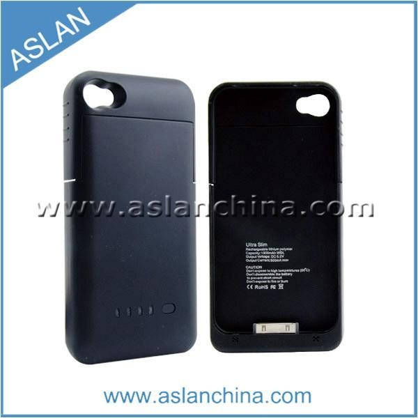 Quality Power Cases for iPhone External Battery Power Pack Case For iPhone 4(ASC-038) for sale