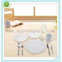China Round shape set 36pcs set with red wine cup&Cutlery wholesale