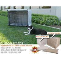 China Dog Crate Cover and Pad Set for MidWest Life Stages Ultima 3-Door Crate wholesale