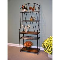 China 4D Concepts Slate Top Bakers Rack on sale