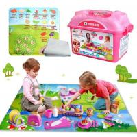 Buy cheap classic toys kids camping cooking games play miniature food kitchen accessories set from wholesalers
