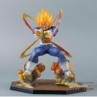 Buy cheap Dragon Ball Z Super Saiyan Vegeta Battle State Final Flash PVC Action Figure Collectible Model Toy from wholesalers