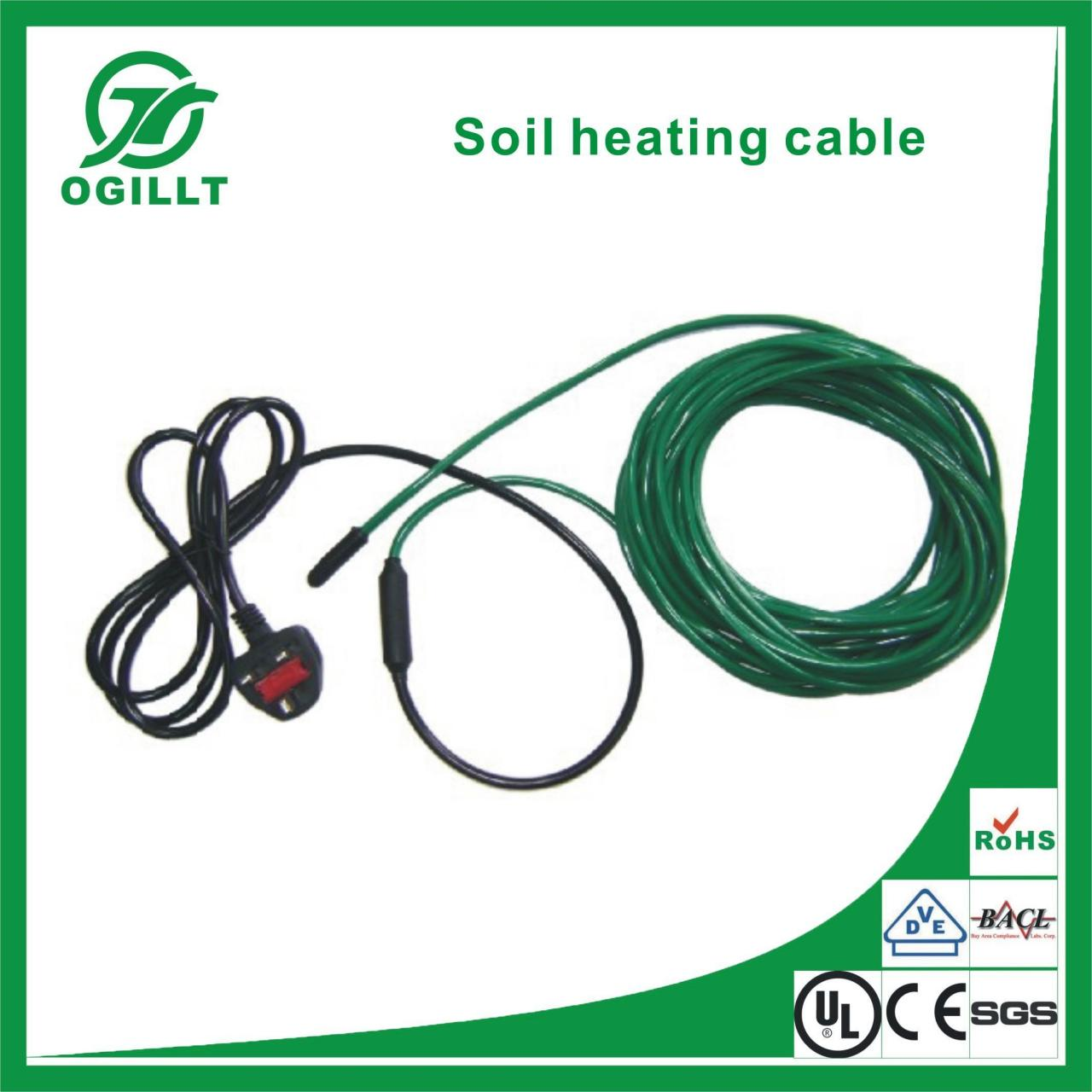 Soil Heating Cable Images