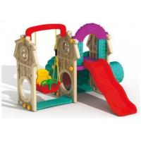 China Small Baby slide with Swing Set on sale