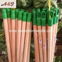 China Natural wooden stick with plastic italian screw and long cap wholesale