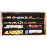 China HO Train / Trailer Rig Display Case with Acrylic door on sale