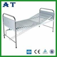 China Medical Double-folding Metal Bed wholesale