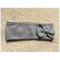 China Knit Cozy Headband With Sequins Bow wholesale