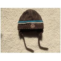 Buy cheap Fleece Lined Knit Logo Hat With String from wholesalers