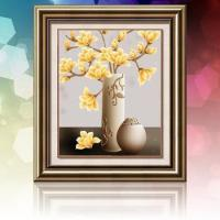 DIY Diamond painting Orchid home decoration craft