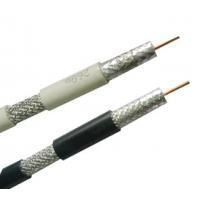China Direct Burial CATV RG11 Coaxial Cable 14 AWG / Coaxial Video Cable