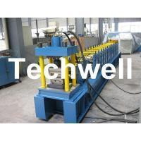 China 5 - 15m / min GCr15 High Grade Steel Rolling Shutter Door Roll Forming Machine TW-RSD85 wholesale