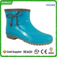 China Hot sale cheap rubber rain boot on sale