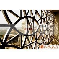 China Carved Shapes Perforated Aluminum Sheet Metal Customized PVDF Coating
