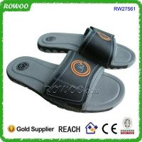 China top quality pu mens fancy sandals wholesale