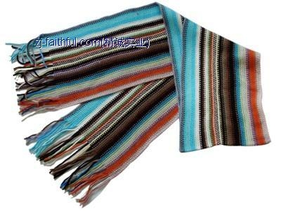 Quality KN-3401-8fashion knitted scarves for sale