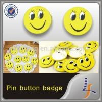 China promotional gift custom tin badge pin button badge wholesale