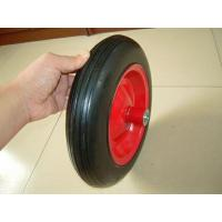China Solid Wheel 3.50-8 solid rubber wheel for wheelbarrow on sale