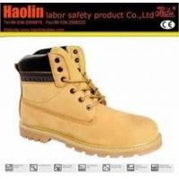 China HL-A122 Nubuck leather safety shoes,Goodyear safety shoes wholesale