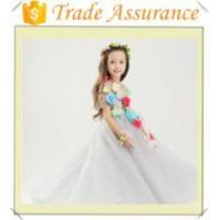 China White formal dress for girls on sale