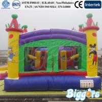 China Commercial Inflatable Moonwalk Bouncy Combo Playground for Sale 1200 on sale