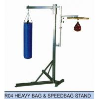 China WEIGHT TRAINING R04 HEAVY BAG & SPEEDBAG STAND on sale