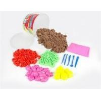 China Children Toy Sand Popular Educational Toy Kids Play Sand Magic Sand with tools on sale