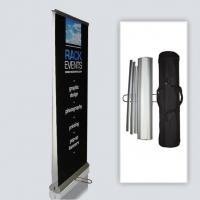 China Banner Deluxe Double Side Rollup Banner Display wholesale