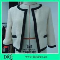 China Ladies short coats with two pockets on front wholesale
