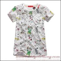 China 100%Cotton Allover Printing T-shirt Adults 12008 on sale