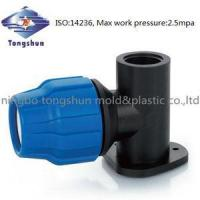Compression Fitting compression fitting pipe fitting - Wall support bracket