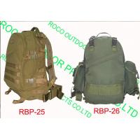 China Backpacks Product 3D Patrol Backpack wholesale