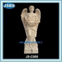 Statue carved angel stone sculpture art sale