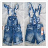 China women's suspender jeans shorts on sale
