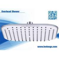 China 8inch Plastic Square Rain Shower Head with Stainless Steel Ball on sale