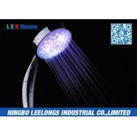 China Water Efficient Thunderhead Handheld Led Rain Shower Head With Good Pressure wholesale