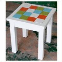 China New arrived square solid wood end table on sale