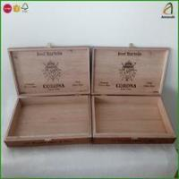 China Empty Wood Cigar Box Supply,Ideal for Gift Storage or Display wholesale