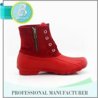 China 2016 Top quality Home-use Removable red cheap rain boots for women on sale