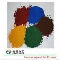 Buy cheap powder pigment fe2o3 iron oxide red and yellow black for ceramic pigment,paint coating from wholesalers