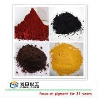 Buy cheap factory price of iron oxide formula for paint making/ concrete color powder from wholesalers