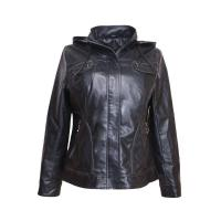 China Henan Cciola women spring oem outdoor cool pu leather jacket on sale