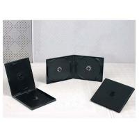 China CD CASES 10.4mm black double PP CD case on sale