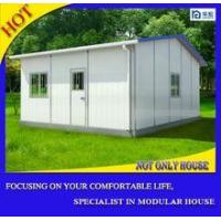 China Fast build thermal insulated low cost modular villa house kits sip panels on sale