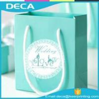 Buy cheap Promotion Custom Color Printing Gift Paper Bag With Best Price from wholesalers