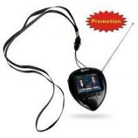 "China 1.8"" gift wholesale price led tv with FM radio, portable watch wholesale"
