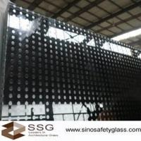 China 2000mm * 3800mm max size serigraph decorative ceramic coated glass for electronic product wholesale